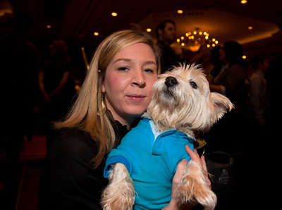 Joanie Rylander (of Arlington VA) and Stoli (who is a westie)