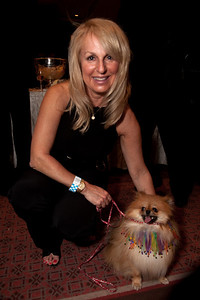 Debbie Cafferty (Great Falls VA) and her pommeranian Rocco