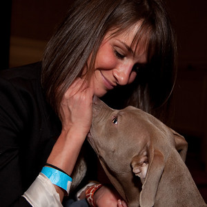 Johanna Elsmore and her pit bull terrier Lila