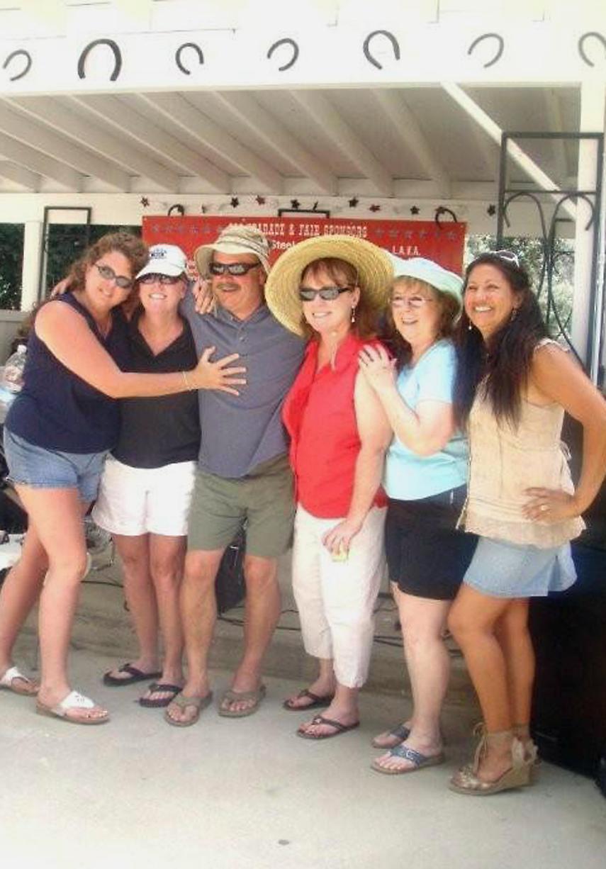 Julie, Lisa, Doug, Sharon, Marion and Michelle