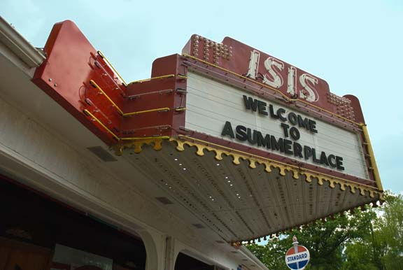 Marquee of Isis Theatre, originally in Kokomo, IN