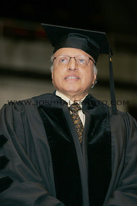 Monkombu Sambasivan Swaminathan stands while being recognized before receiving an honorary degree during the 2006 Summer Graduation Commencement held in Hilton Coliseum on Saturday, August 05, 2006.