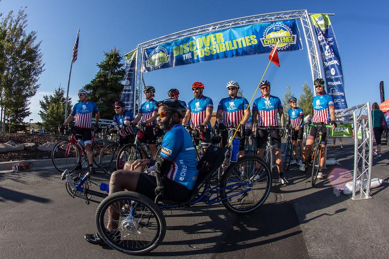 PARK CITY, UT - August 27, 2016:  National Ability Center Summit Challenge (Photo by Scott Filipiak)