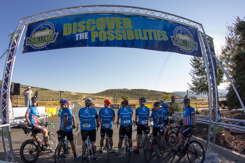 PARK CITY, UT - August 27, 2016:  National Ability Center Summit Challenge (Photo by Scott Filipiak)