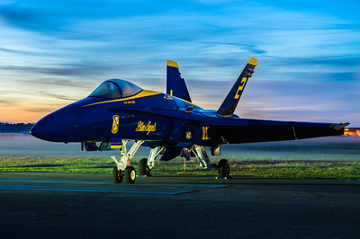 Blue Angel #2 Early Morning