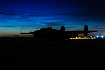 B-25 Blue Hour