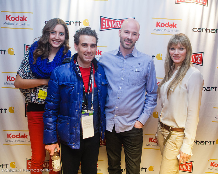Chad Crawford Kinkle Director/Writer of Jug Face. With Friends Slamdance Park City