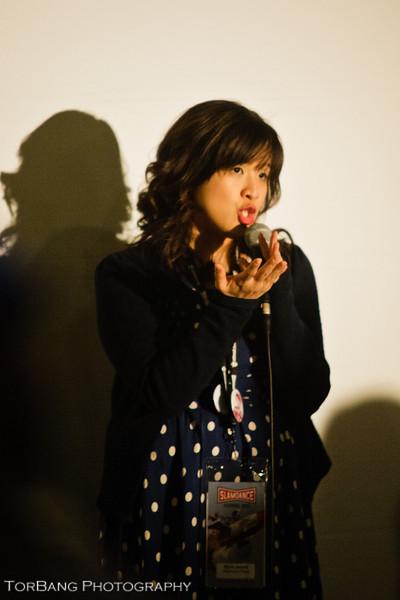 Marie Jamora Director of What Isn't There. Slam Dance Park City UT