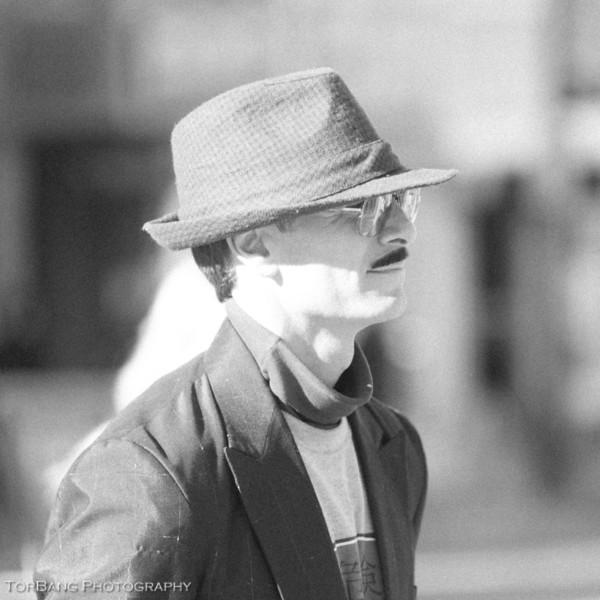 Street Performer on Main ST in Park City durring Sundance Film Festival