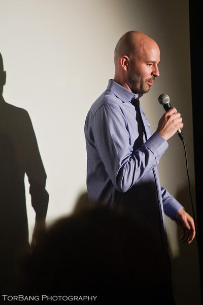 Chad Crawford Kinkle Director/Writer of Jug Face. Slamdance Park City