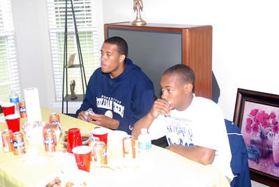 CJ & Jerrod we got our eat on
