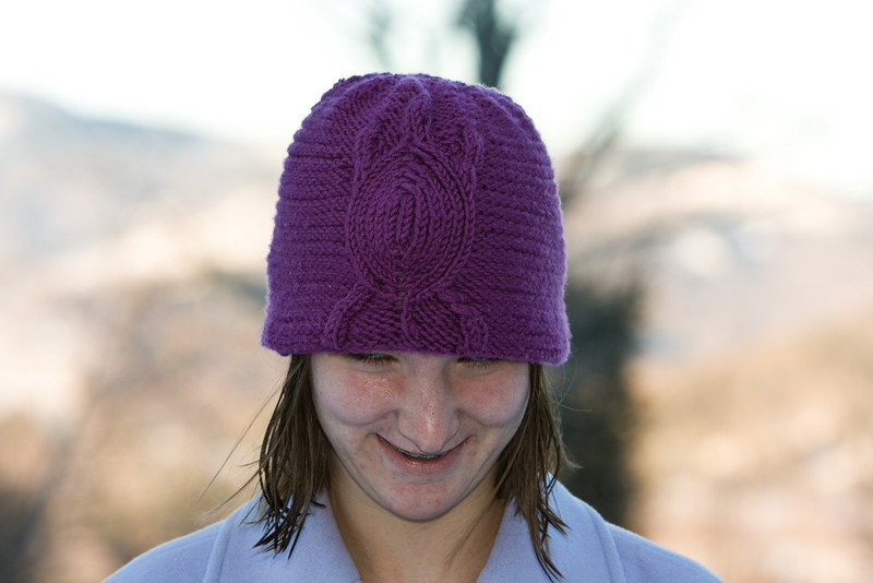 Turtle hat.