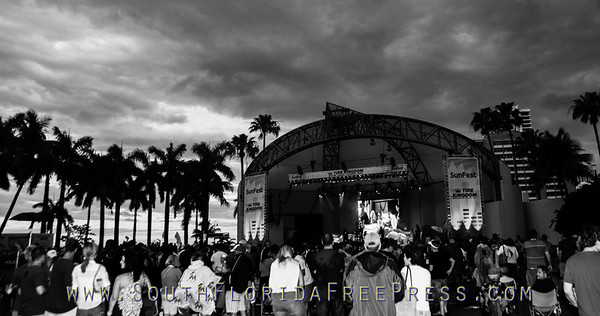 Sunfest 2013 Gary Clark Jr