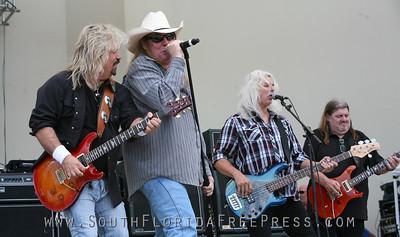 Molly Hatchet Sunfest Sat 2013