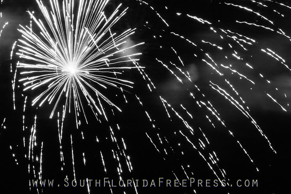 Sunfest 2014 Fireworks Display