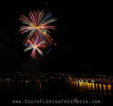 Sunfest - Fireworks 2013