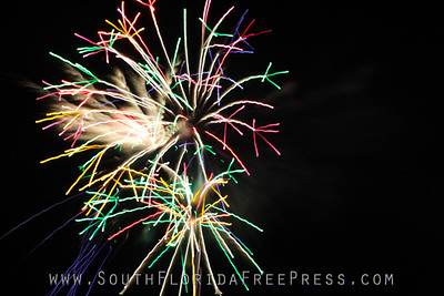 Sunfest 2013 Fireworks