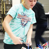 Submitted photo<br /> Wrapping gifts got students in holiday moods.