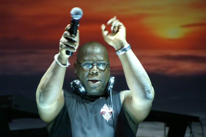 Carl Cox announcing his arrival in St, Petersburg with a massive sound.