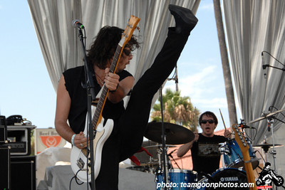 The Airborne Toxic Event - Sunset Junction Street Festival - Silver Lake - Los Angeles, CA - August 2007