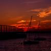 Sunset at Brooklyn Bridge Park