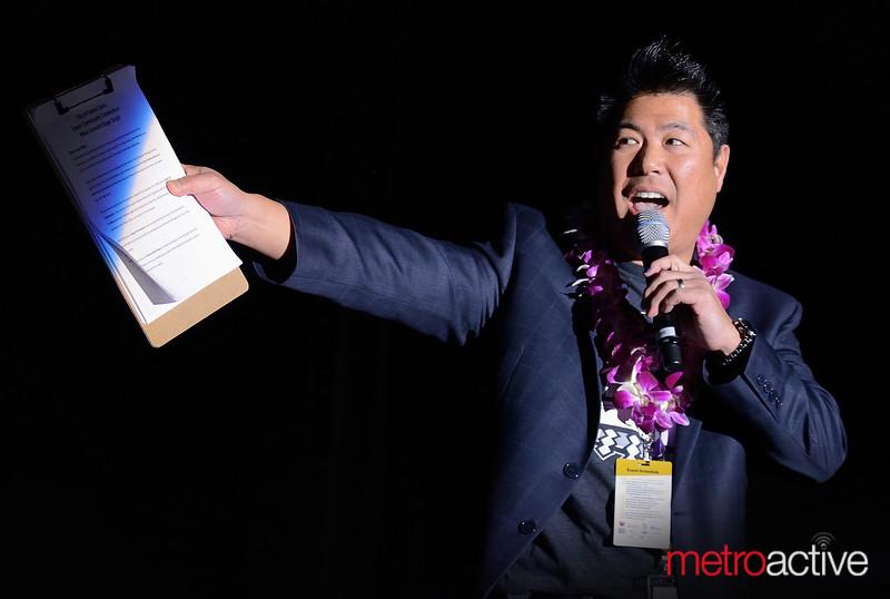 Mike Inouye of NBC ~ Host