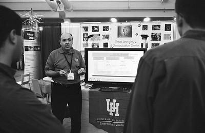 Predrag giving a presentation.
