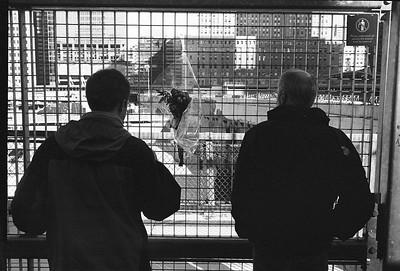 Stop over in NYC. Ground zero.