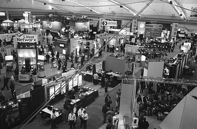 A small part of the SC04 show floor.