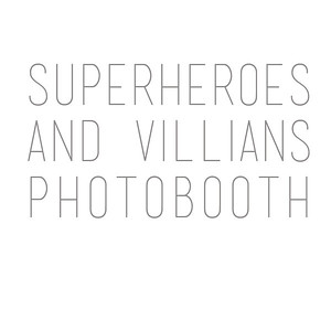 Superheroes and Villians Photobooth