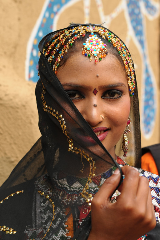Radha Sapera is a dancer with the Rajki-Puran Nath Sapera & Party, Jaipur.