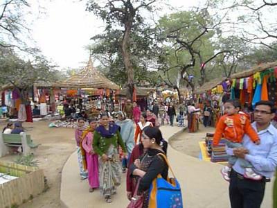 Short audio-video clip of Surajkund Mela 2010, Haryana (near New Delhi), February, 2010