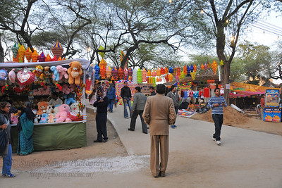 Plenty of opportunity for shopping deals, bargains and purchases or just enjoy the performances at the Surjakund Crafts Mela 2010 held in February in Faridabad, Haryana, India.
