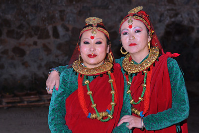 Ghantu Dance, Sikkim. The Ghantu dance is Sikkimese folk dance patronised by the Gurung community. This ancient folk dance form depicts the colourful lifestyle of the people of the land and is performed by young girls in traditional costumes & headgear and is full of fun and vigour. The performance of North East Octave Group added to the majestic splendour of the Mela. Octave 2010 brought the rich cultural diversity and hertiage from eight North-Eastern states of India - Assam, Meghalaya, Tripuar, Manipur, Mizoram, Nagaland, Arunachal Pradesh, and Sikkim. In association with Ministry of Culture, Government of India and North Central Zone Cultural Centre, Allahabad. This performance was the largest group performers at the Surjakund Crafts Mela 2010 held in February in Faridabad, Haryana, India.