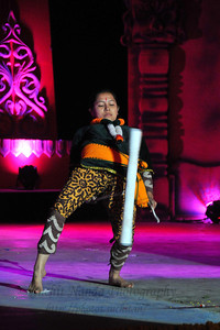 Cheinol Jagoi (stick presentation), Manipur. Cheinol Jagoi (stick dance) originated from Manipuri Thang-ta. Mater skilled stick players handling three sticks of different sizes in different steps, speeds and styles entrall spectators. The performance of North East Octave Group added to the majestic splendour of the Mela. Octave 2010 brought the rich cultural diversity and hertiage from eight North-Eastern states of India - Assam, Meghalaya, Tripuar, Manipur, Mizoram, Nagaland, Arunachal Pradesh, and Sikkim. In association with Ministry of Culture, Government of India and North Central Zone Cultural Centre, Allahabad. This performance was the largest group performers at the Surjakund Crafts Mela 2010 held in February in Faridabad, Haryana, India.