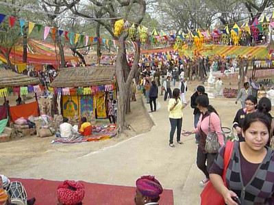 Short audio-video clip of Surajkund Mela 2010, Haryana (near New Delhi), February, 2010