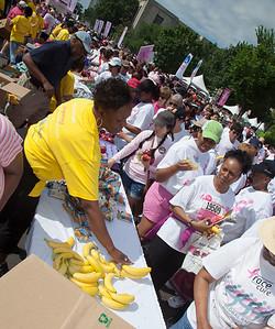 Safeway distributes free fruit