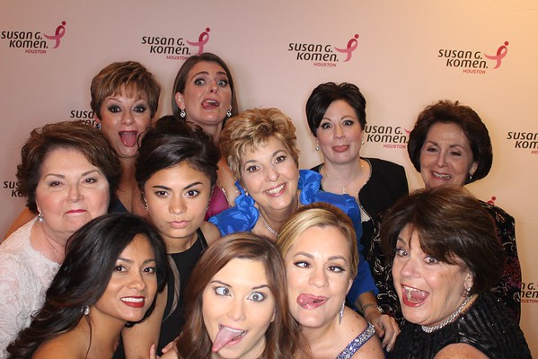 Susan G. Komen - 25th Anniversary Gala - Photo Booth sponsored by Gregg S. Harrison Attorney at Law PLLC