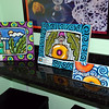 Susan Torres Art Show : The first Susan Torres Art Show on Friday November 9, 2007 at Neighborhood Coffee and Gelato Amore in Boca Raton