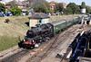 Standard 4 Tank locomotive at Swanage