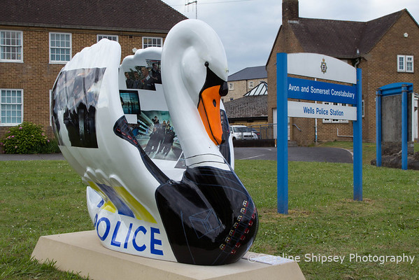 Hot Fuzz No.23, Wells Police Station