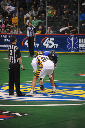Swarm Vs Rock 3-16-2014
