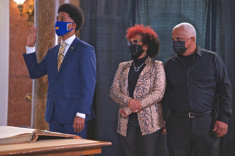 Swearing In Ceremony for Brandon M. Scott