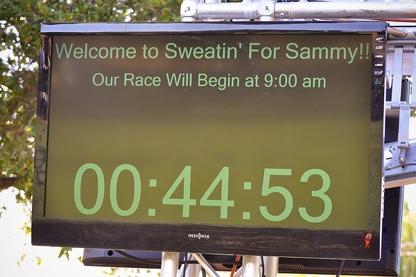 Sweatin' for Sammy 2012