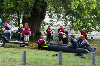 Swift Water Training Belton Spillway 7_9_15