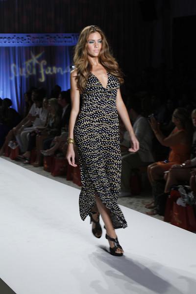 Luli Fama at Mercedes Benz Fashion Week 2012 line