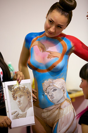 Swiss Body Painting Festival 2013