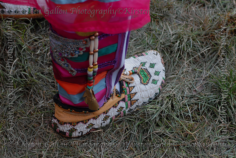I wanted to show the detail in the leggings and moccasins.