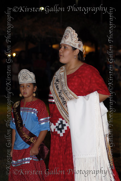 Miss Kumeyaay and Little Miss Kumeyaay.