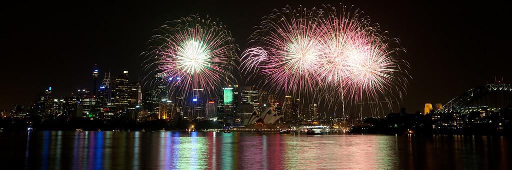 Sydney Fireworks - November 2009